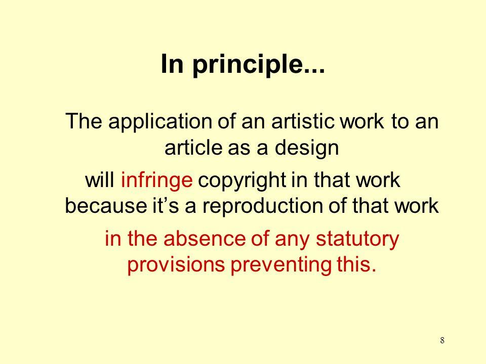 8 In principle...