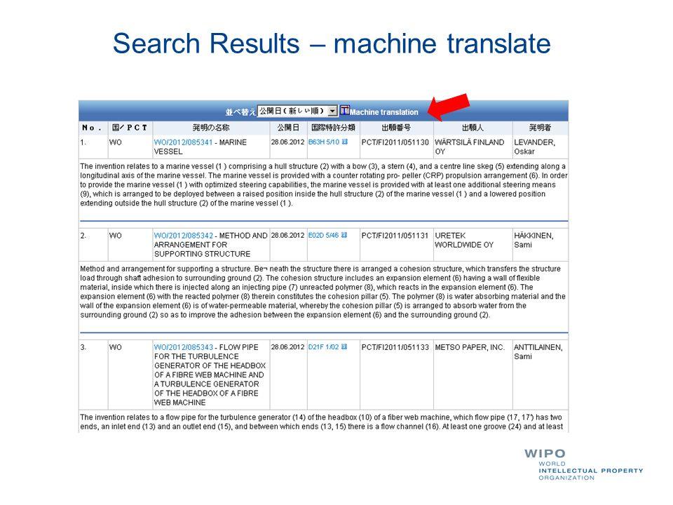 Search Results – machine translate