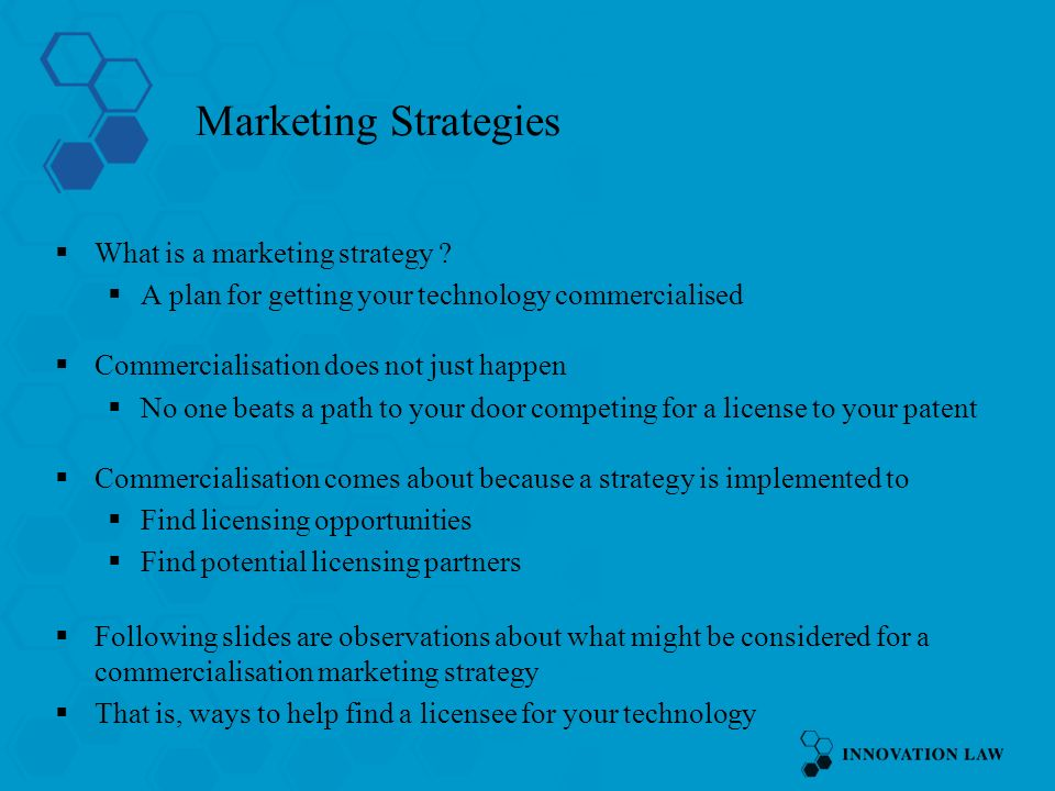 Marketing Strategies What is a marketing strategy .