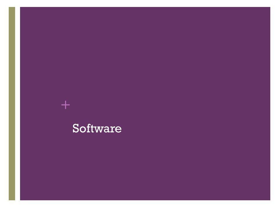 + Software