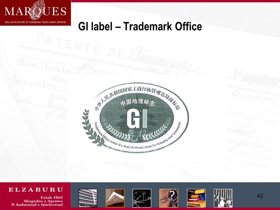 41 GI label - AQSIQ