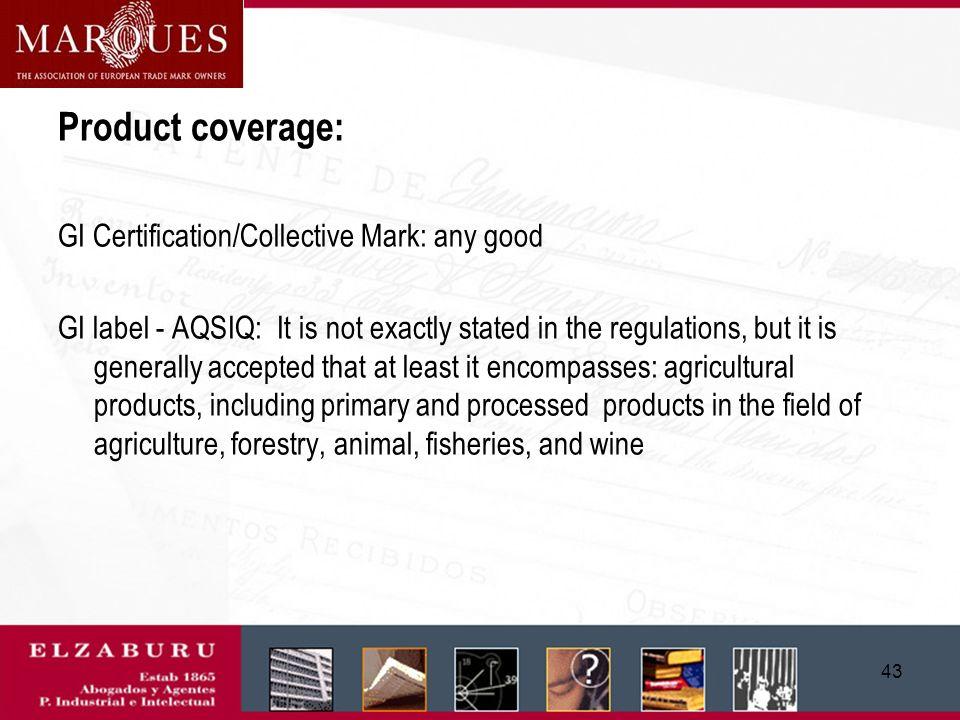 42 GI label – Trademark Office