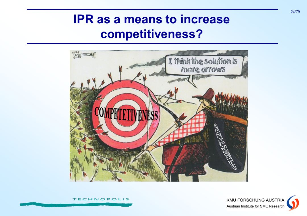 24/79 IPR as a means to increase competitiveness?