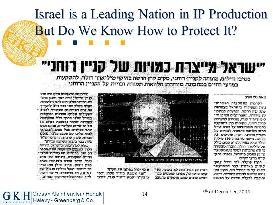 L A W O F F I C E S Gross Kleinhendler Hodak Halevy Greenberg & Co.
