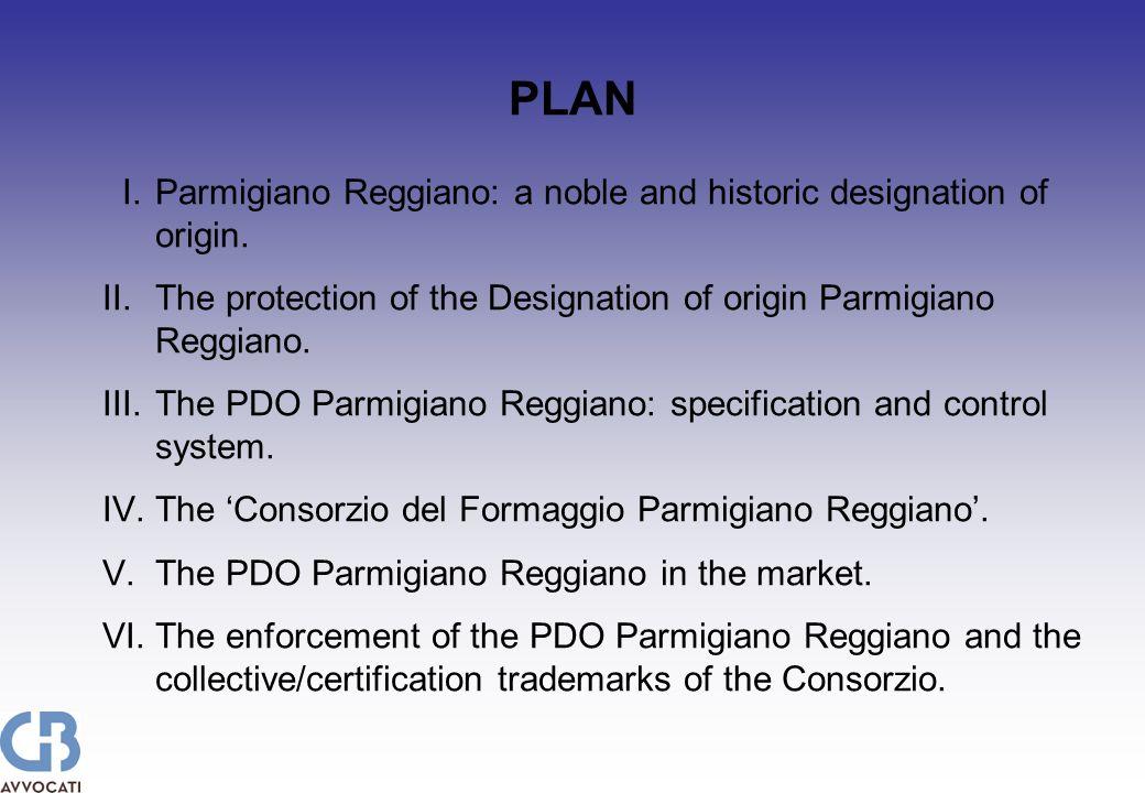 I.Parmigiano Reggiano: a noble and historic designation of origin.