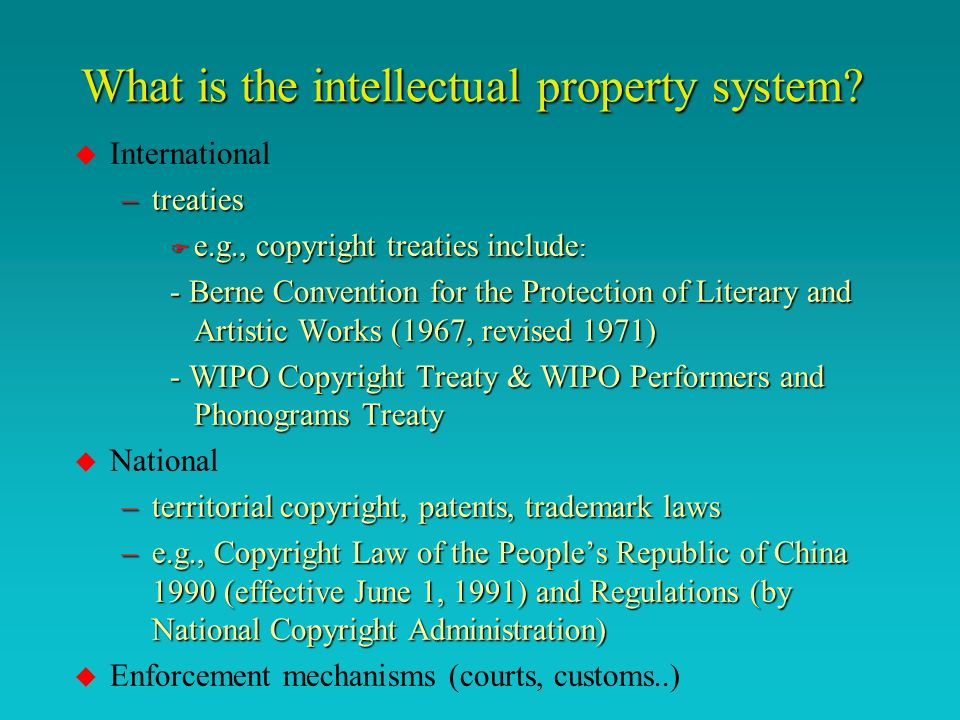Copyright works for business copyright as a commercial asset to earn income protection for emerging technologies management of use of others copyright works use copyright as security to gain credit and financing copyright protection for marketing and advertising sale or licensing of copyright use of copyright in the public good copyright for social, cultural and economic development (narrow the content divide)