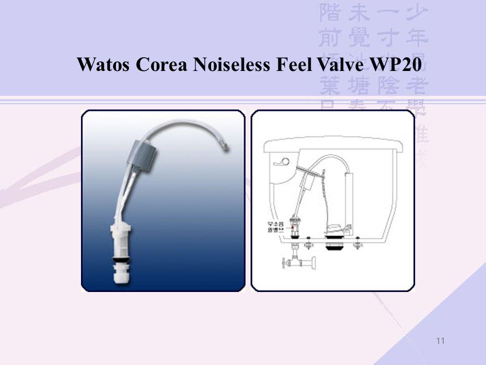 11 Watos Corea Noiseless Feel Valve WP20