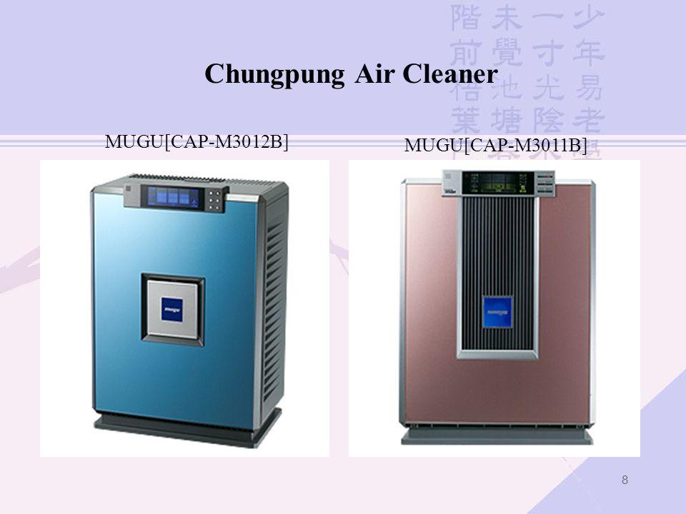 8 MUGU[CAP-M3011B] Chungpung Air Cleaner MUGU[CAP-M3012B]
