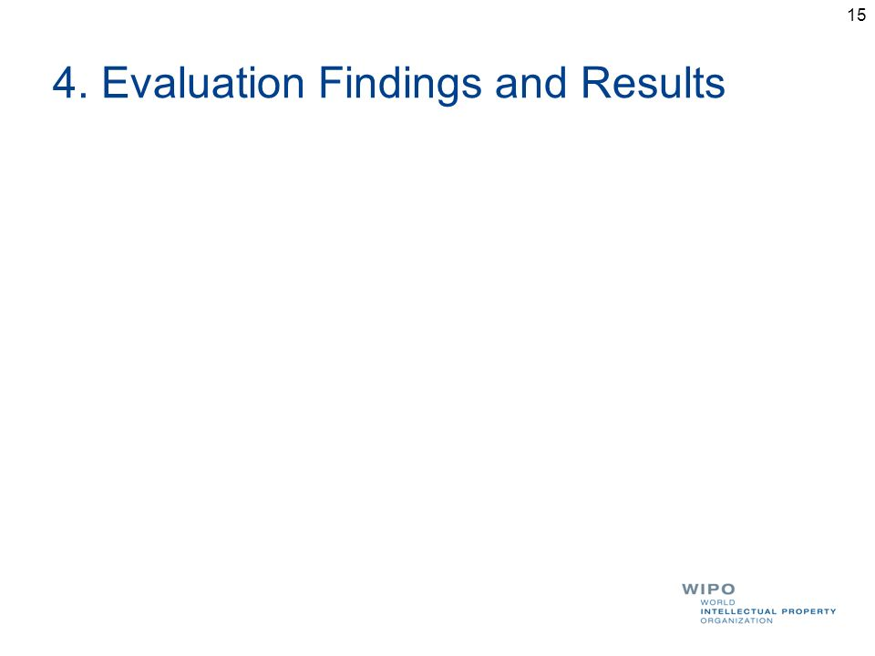 4. Evaluation Findings and Results 15