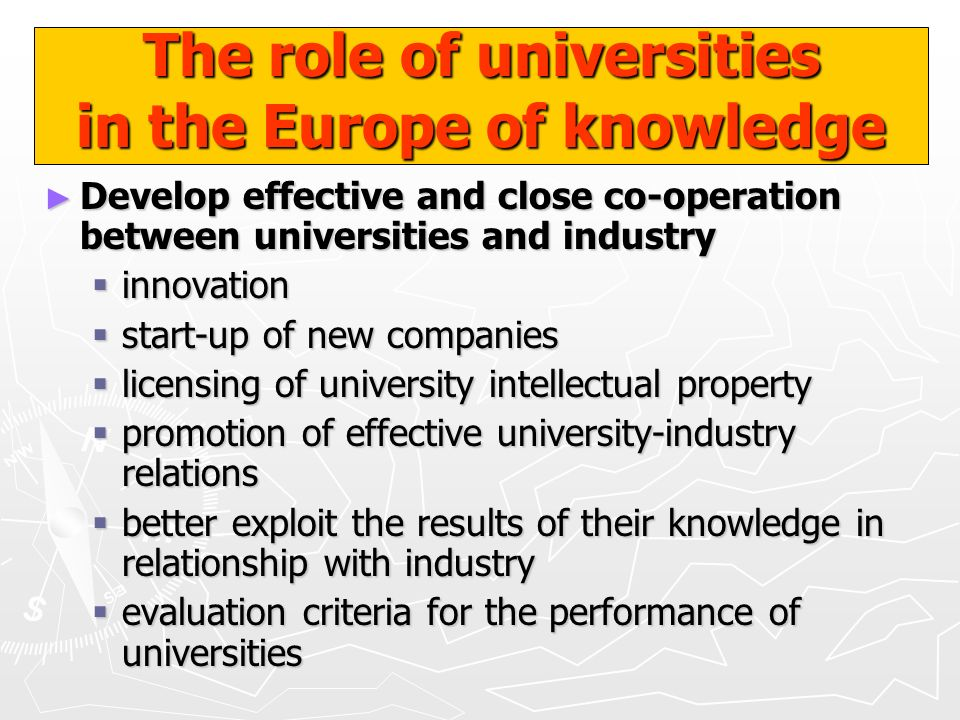SUCCESS FACTORS FOR TECHNOLOGY TRANSFER Academic Business Government Community TalentTechnologyCapitalKnow - How Market - Need Successful Value - Added Technology Transfer G.