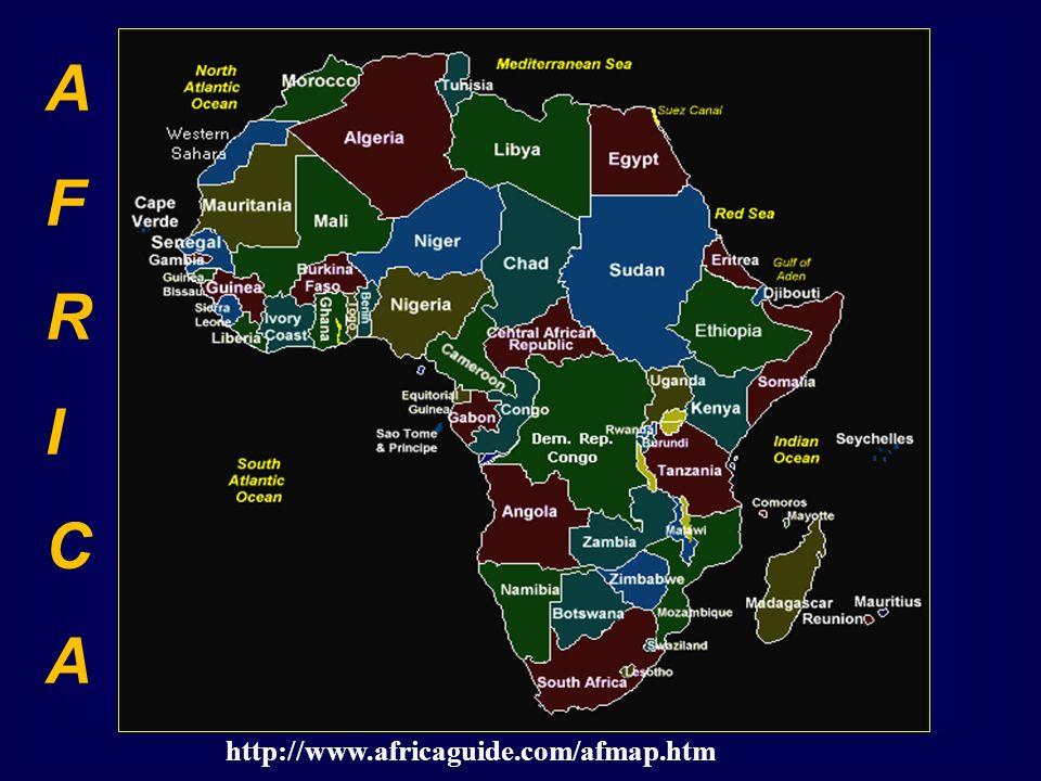 http://www.africaguide.com/afmap.htm AFRICAAFRICA