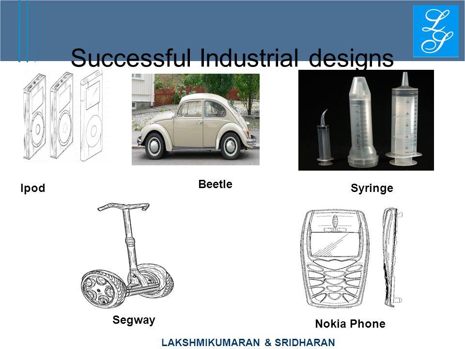 LAKSHMIKUMARAN & SRIDHARAN Successful Industrial designs Ipod Beetle Segway Nokia Phone Syringe