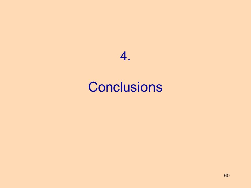 60 4. Conclusions