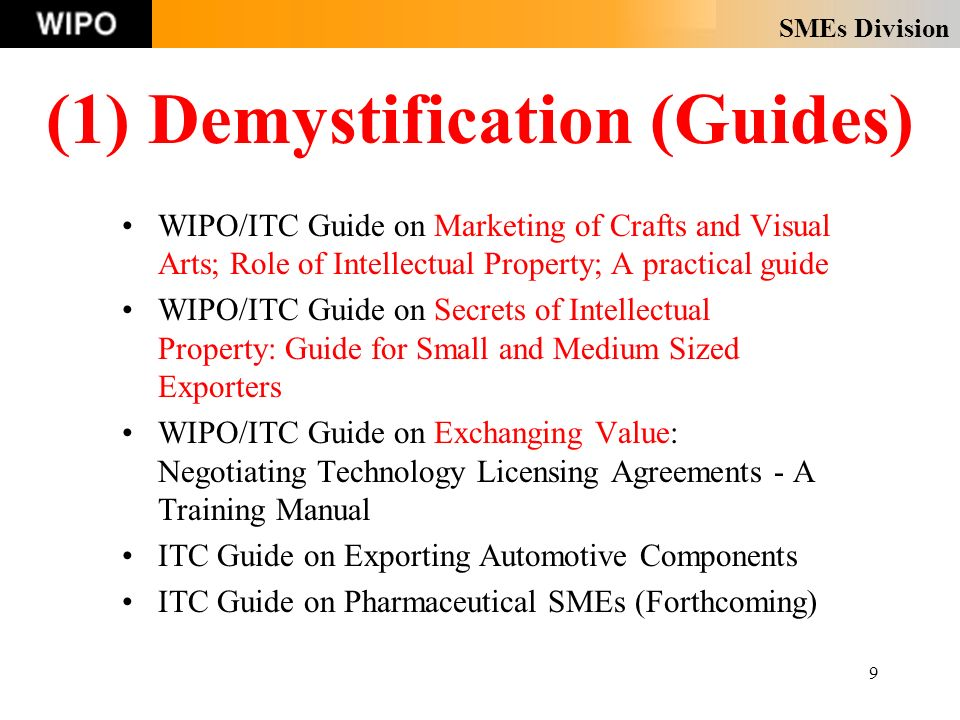SMEs Division 10