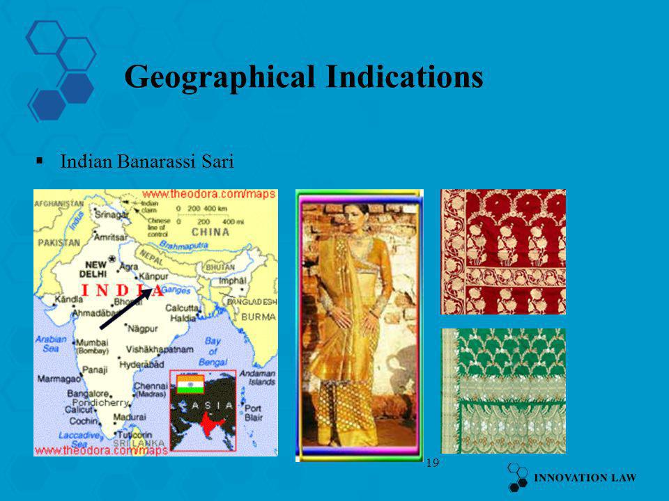 19 Geographical Indications Indian Banarassi Sari