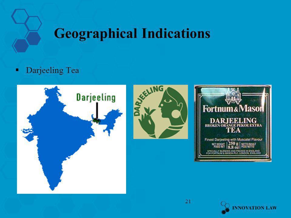 21 Geographical Indications Darjeeling Tea