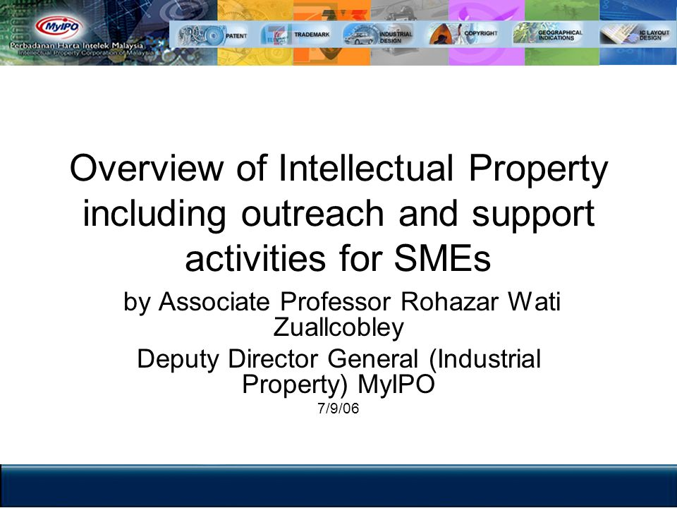 The IP Chain of Activities Creation Innovation Commercialization Protection Enforcement