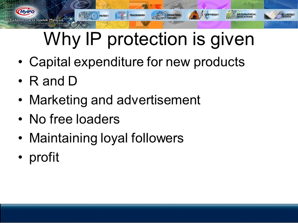IP as a property Can be sold Can be bought Can be lease or rent Can pass under a will Can be assigned