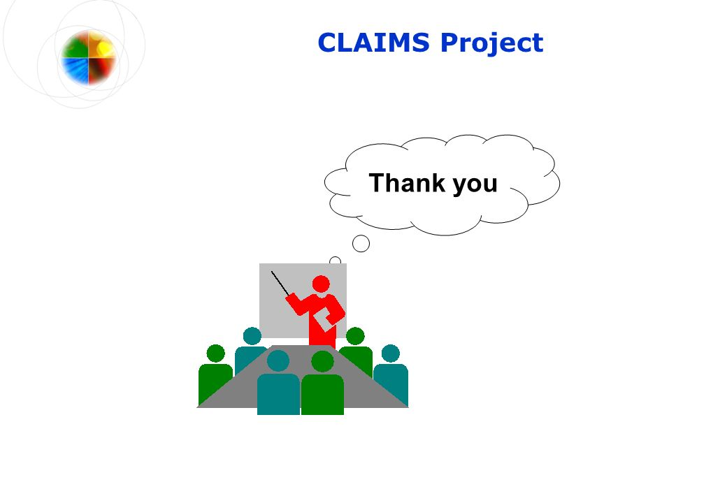 CLAIMS Project Thank you