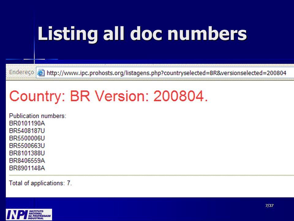 28/37 Korean Working List KR100222598 1 2 3