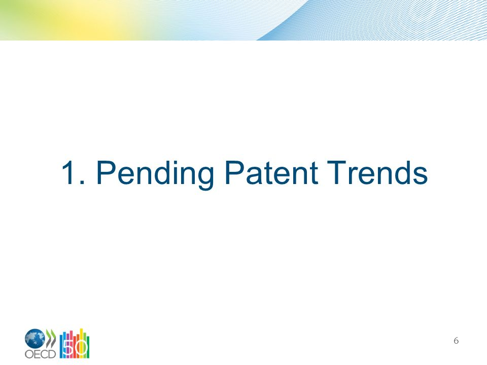 1. Pending Patent Trends 6