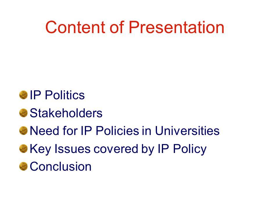 1.IP Politics