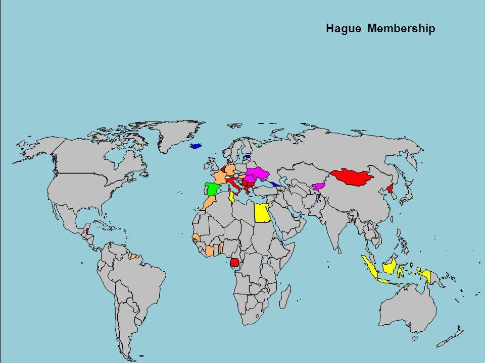 Hague Membership