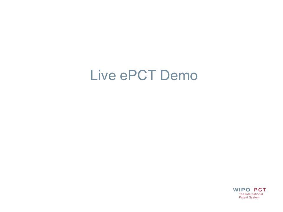Live ePCT Demo