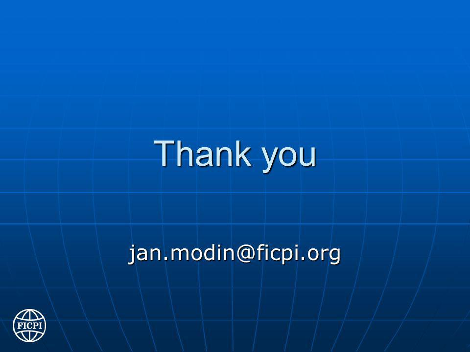 Thank you jan.modin@ficpi.org