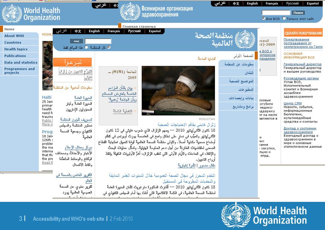 4 |4 | WHO s web publishing context