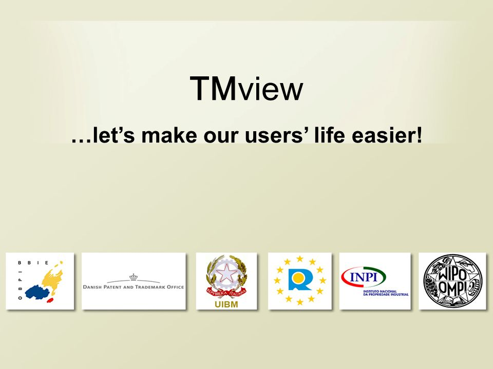 TMview …lets make our users life easier!