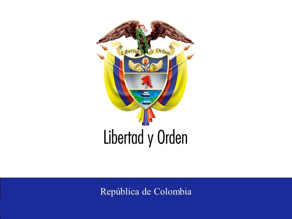 Ministerio de Relaciones Exteriores República de Colombia Thank you National Planning Department Phone: (57 1) 3815000 www.dnp.gov.co ecristancho@dnp.gov.co Superintendence of Industry and Commerce Carrera 13 No.