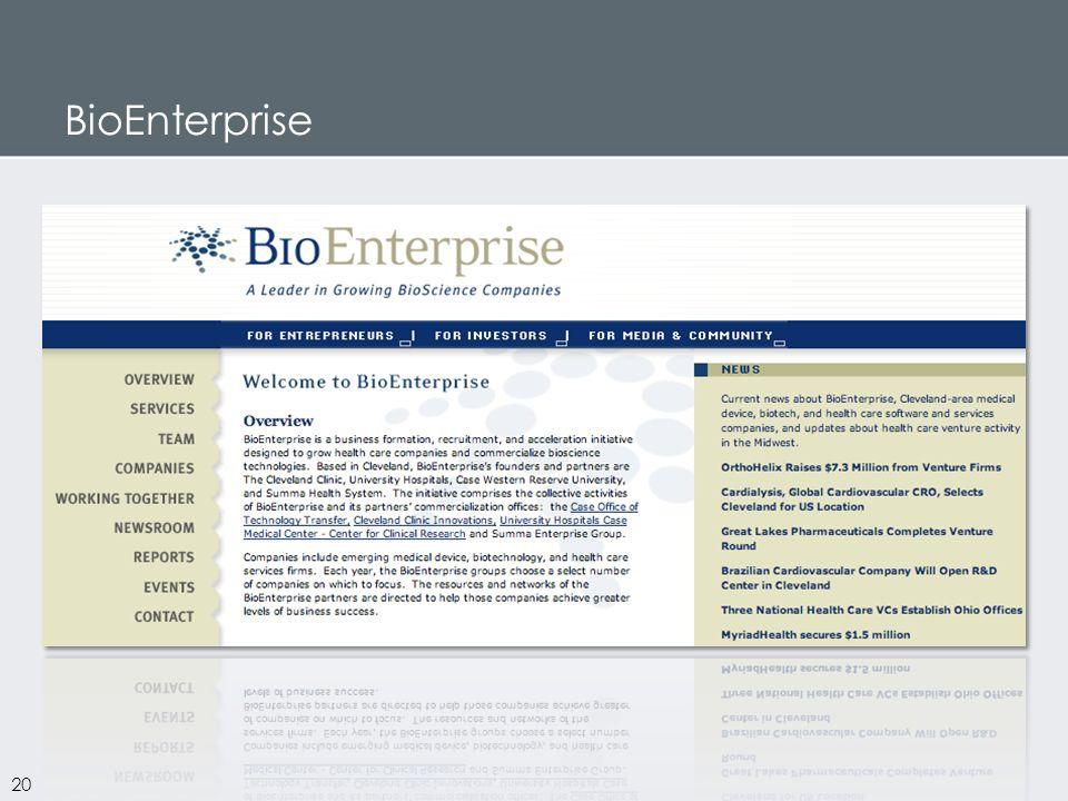 BioEnterprise 20