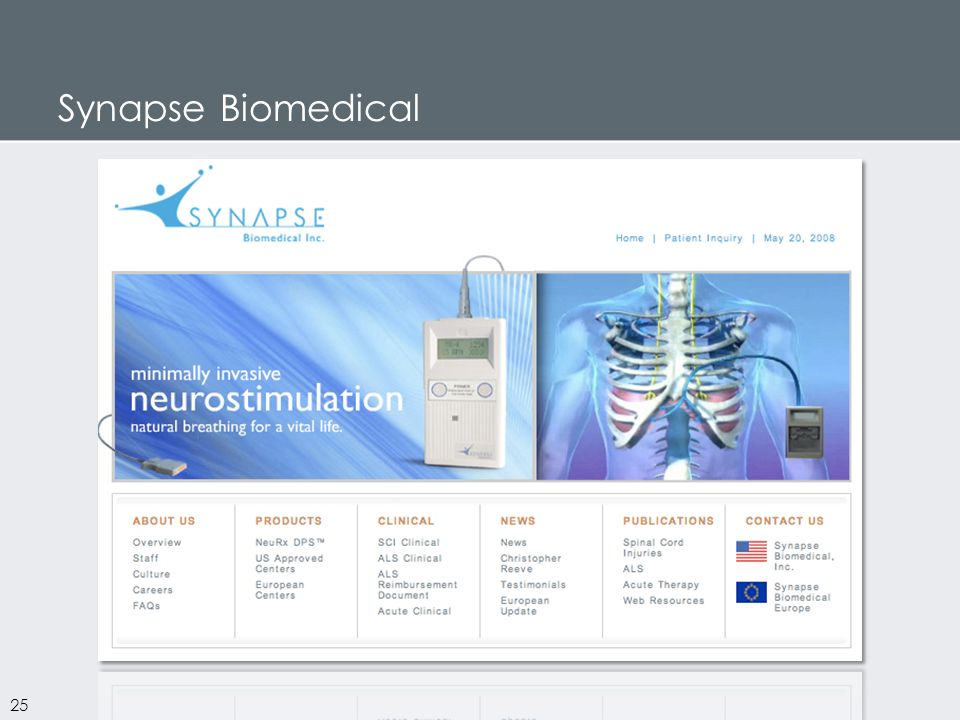 Synapse Biomedical 25
