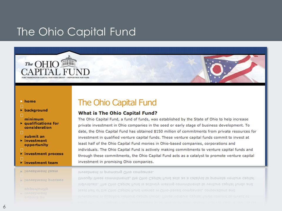 The Ohio Capital Fund 6