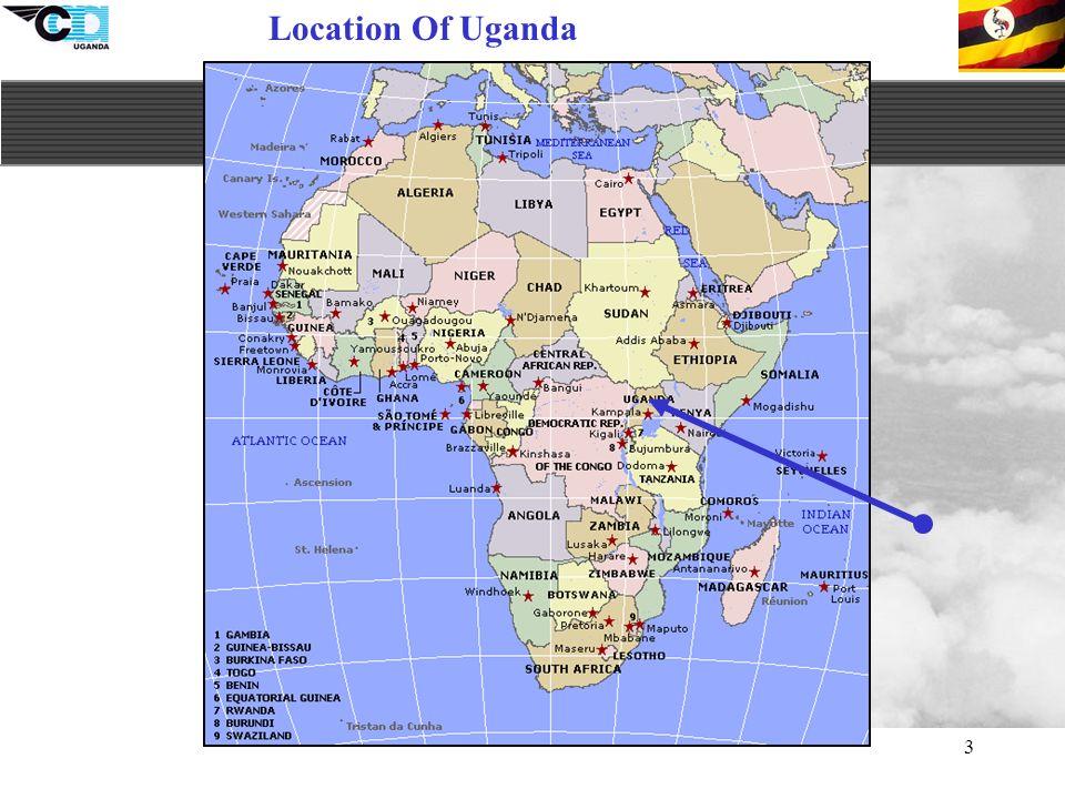 3 Location Of Uganda