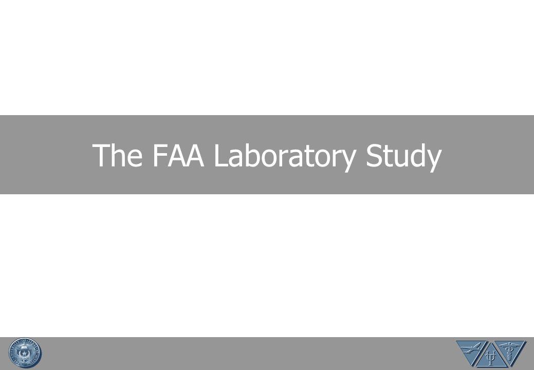 The FAA Laboratory Study