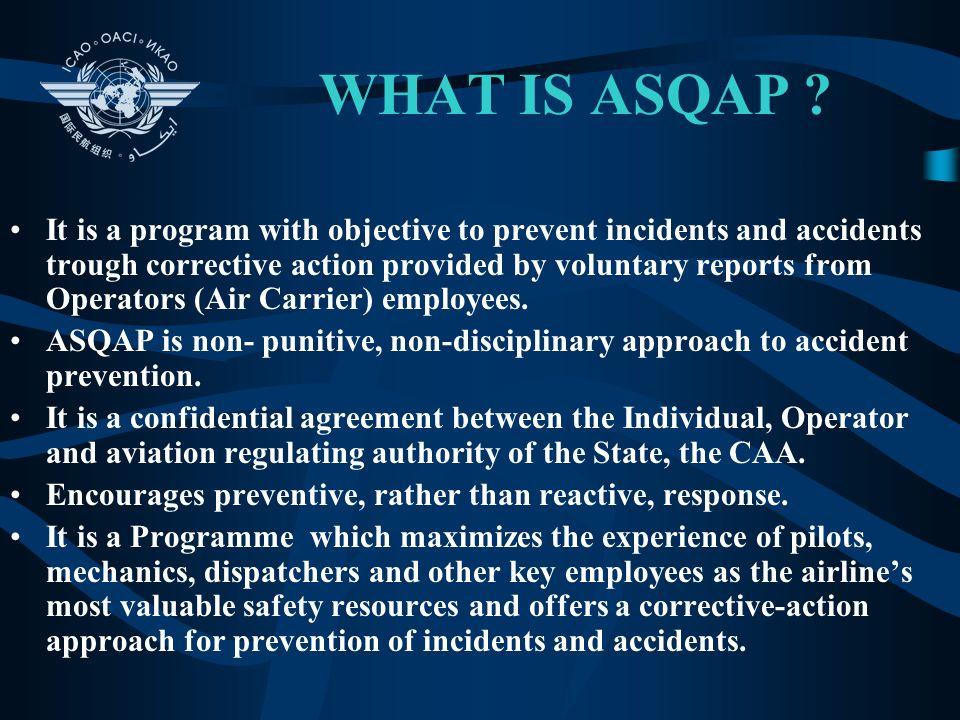 AVIATION SAFETY QUALITY ASSURANCE PROGRAMME International Civil Aviation Organization Capt. Jan Jurek Regional Officer, Safety Oversight