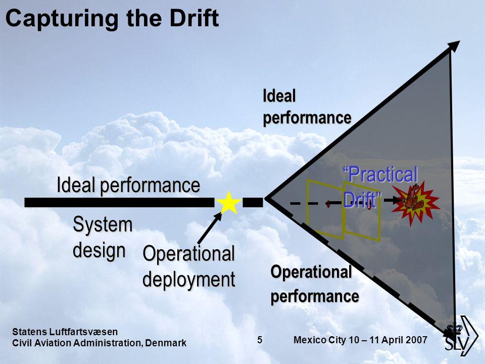 Statens Luftfartsvæsen Civil Aviation Administration, Denmark 16 Mexico City 10 – 11 April 2007 270605 08:40