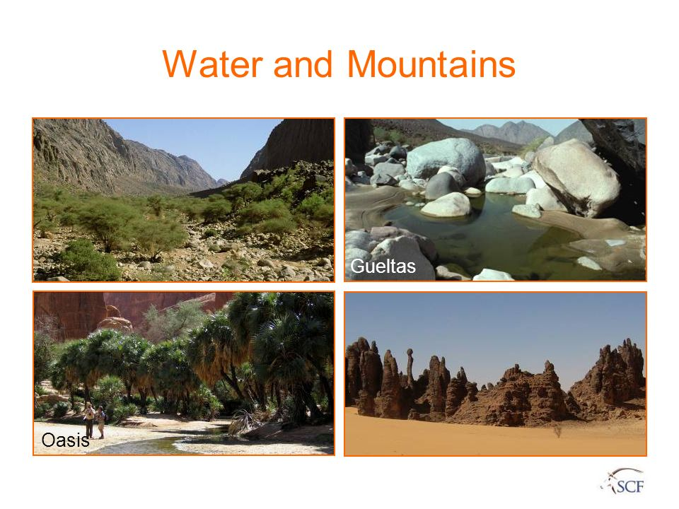 Water and Mountains Gueltas Oasis