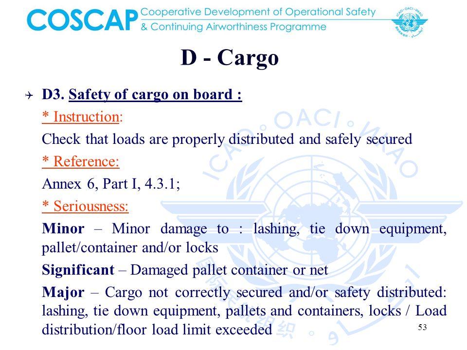 53 D - Cargo D3.