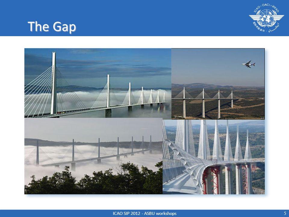 The Gap 5 ICAO SIP 2012 - ASBU workshops