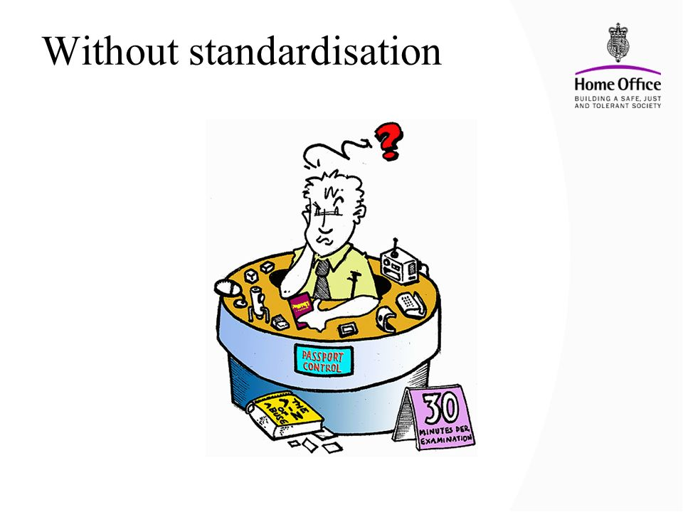 Without standardisation