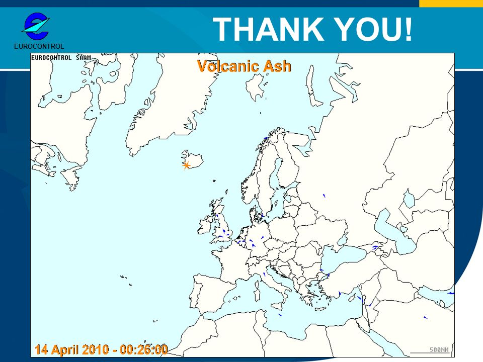 EUROCONTROL THANK YOU!