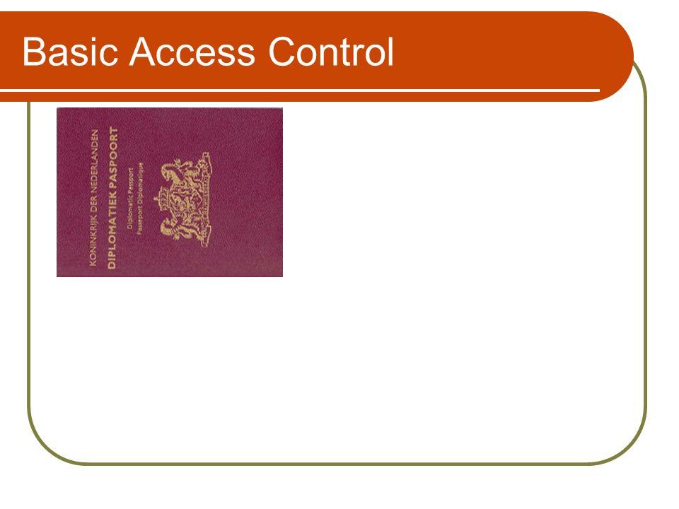 Basic Access Control