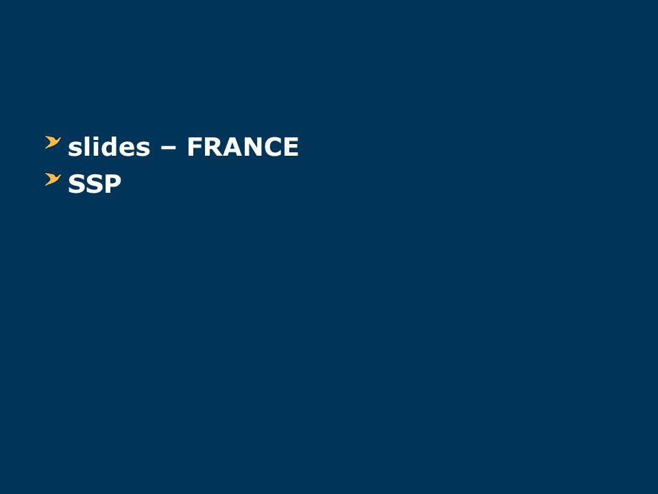 slides – FRANCE SSP
