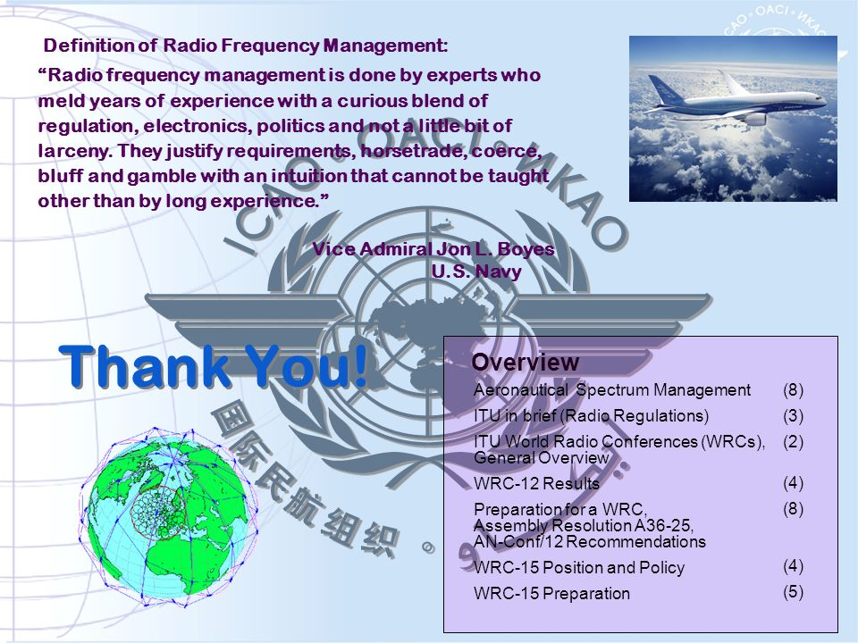 Thank You! Definition of Radio Frequency Management: Radio frequency management is done by experts who meld years of experience with a curious blend o