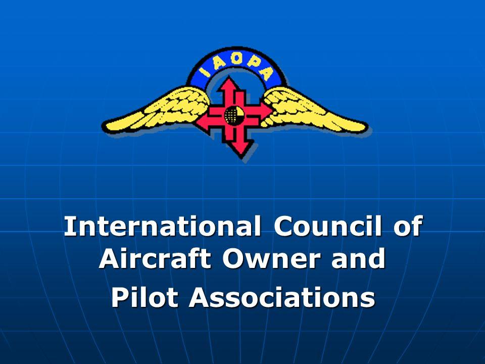 International Council of Aircraft Owner and Pilot Associations