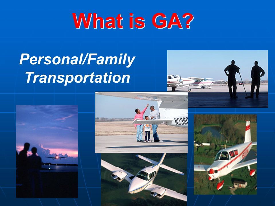 What is GA Personal/Family Transportation