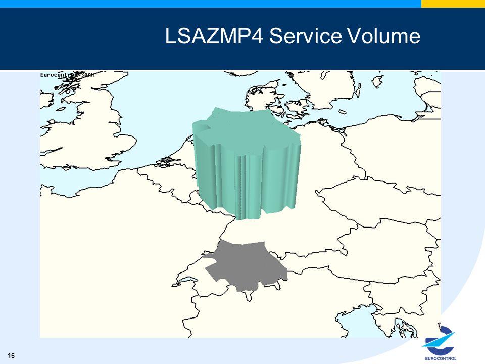16 LSAZMP4 Service Volume
